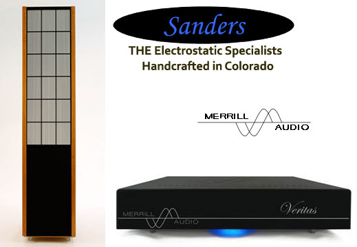 Sanders Sound Systems Model 10c system at New York Audio Show 2013