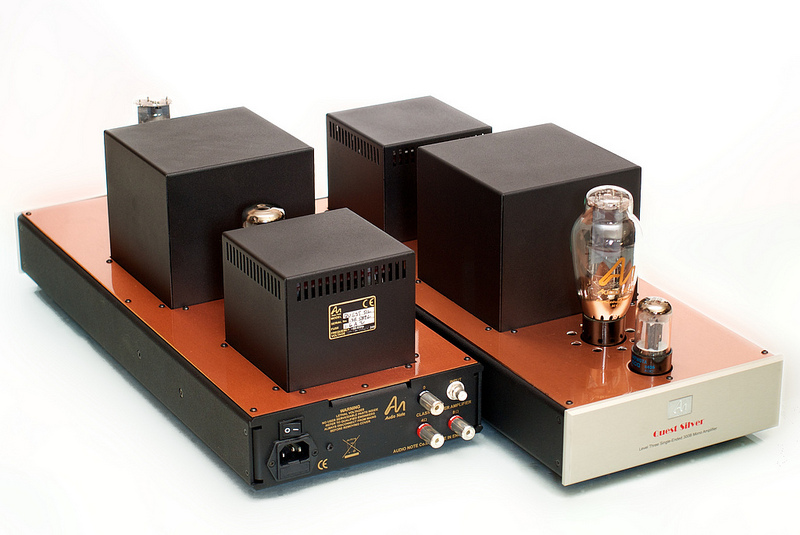 Audio Note Quest Silver monoblock amplifiers