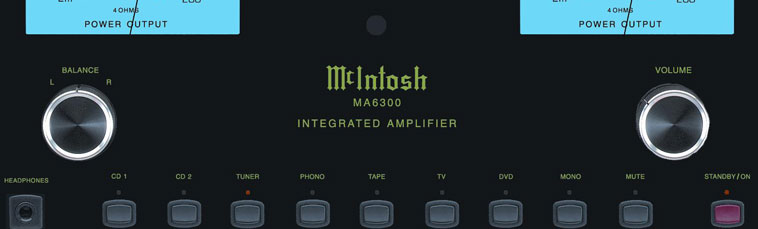 McIntosh MA6300 Solid-State Integrated Amplifier Review