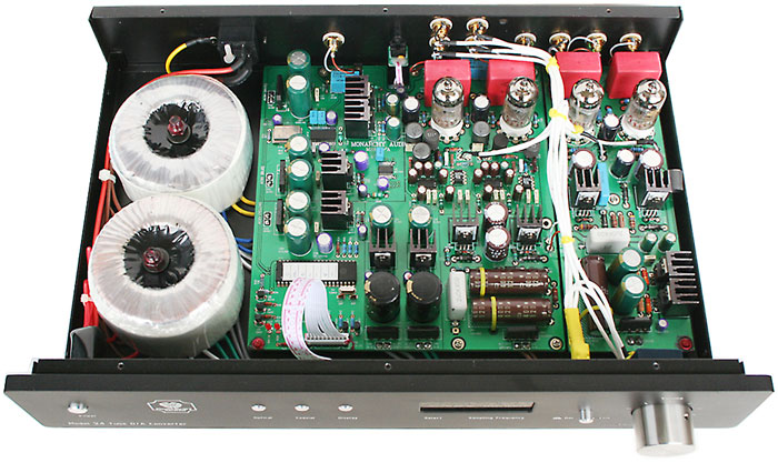 Inside the Monarchy M24 DAC - Preamplifier
