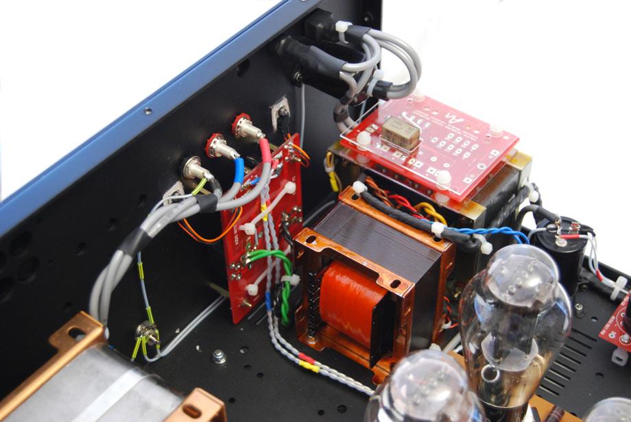 Inside the Audio Note Kegon amplifier