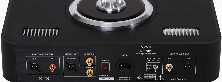Ayon Audio Cd 2 Cd Player Review