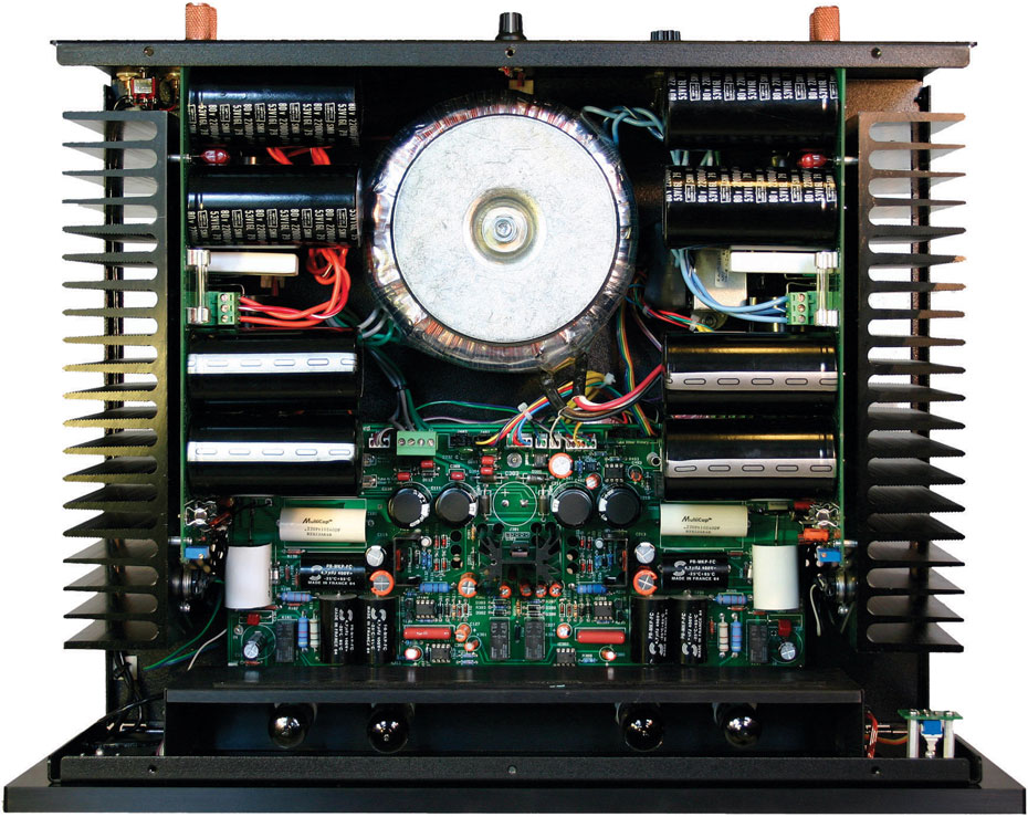 Inside the Moscode 402Au Amplifier