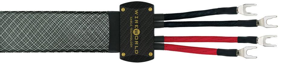 Wireworld Platinum Eclipse speaker cable (bi-wired)