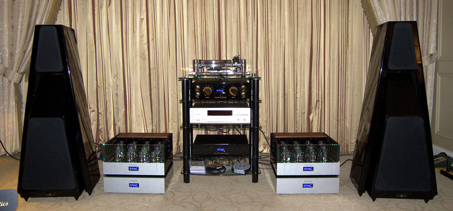 Gershman Acoustics/VAC (Valve Amplification Company) room