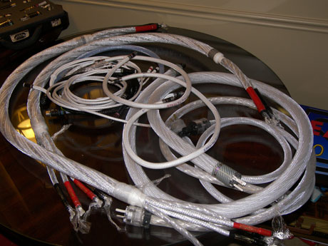 A not so Stealthy looking pile of cables