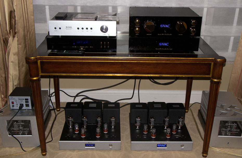 MBL, Jolida and VAC Shown with Kingsound King II