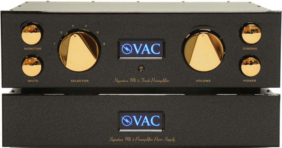 VAC Sig Mk2 preamplifier