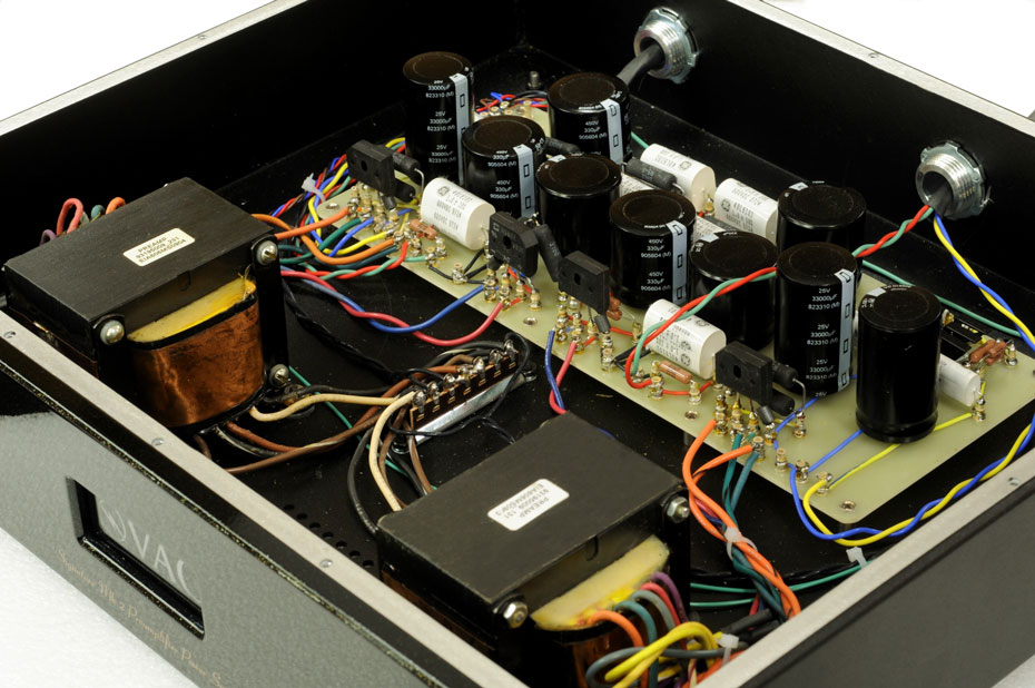 Inside the VAC Signature Preamplifier Mk 2