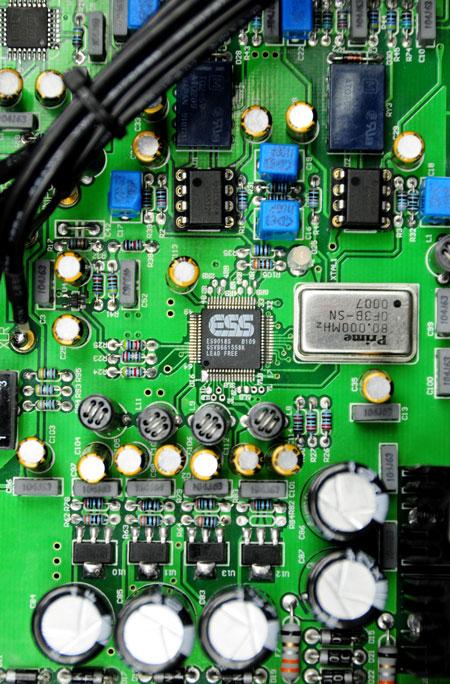 Eastern Electric Minimax DAC circuit board