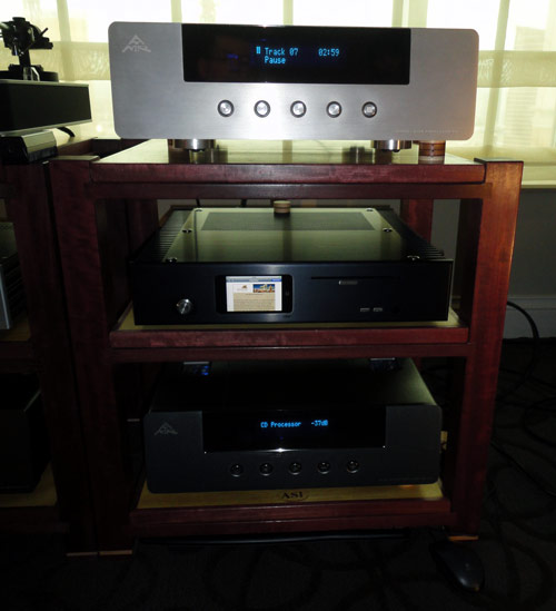 AMR CD-77.1 CD Player at CES 2011