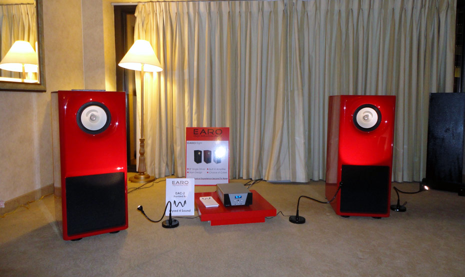 EARO High Definition Audio at CES 2011