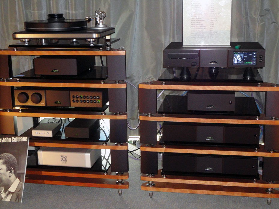 Naim Clearaudio Performance table with Talisman MC Cartridge and Naim separates system
