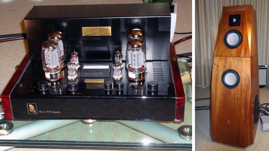 Margules Audio U280sc Stereo Tube Amplifier; Margules Grand Orpheo Loudspeaker
