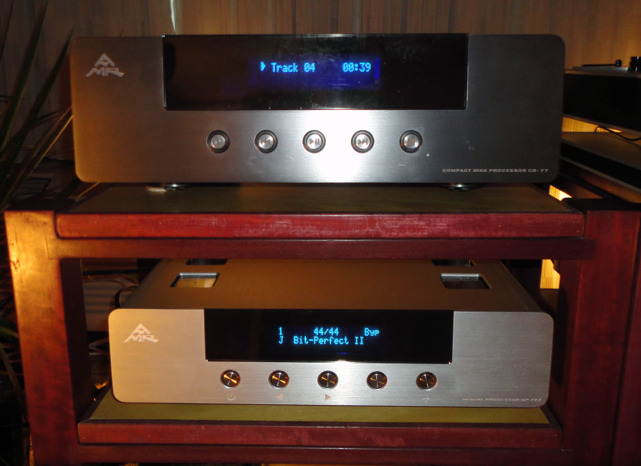 AMR CD-77.1 CD Player and DP-777 DAC