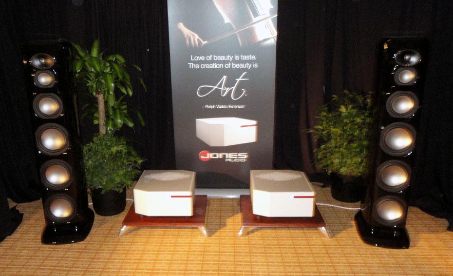 Jones Audio Series 2 Monoblocks with Revel Ultima Salon speakers