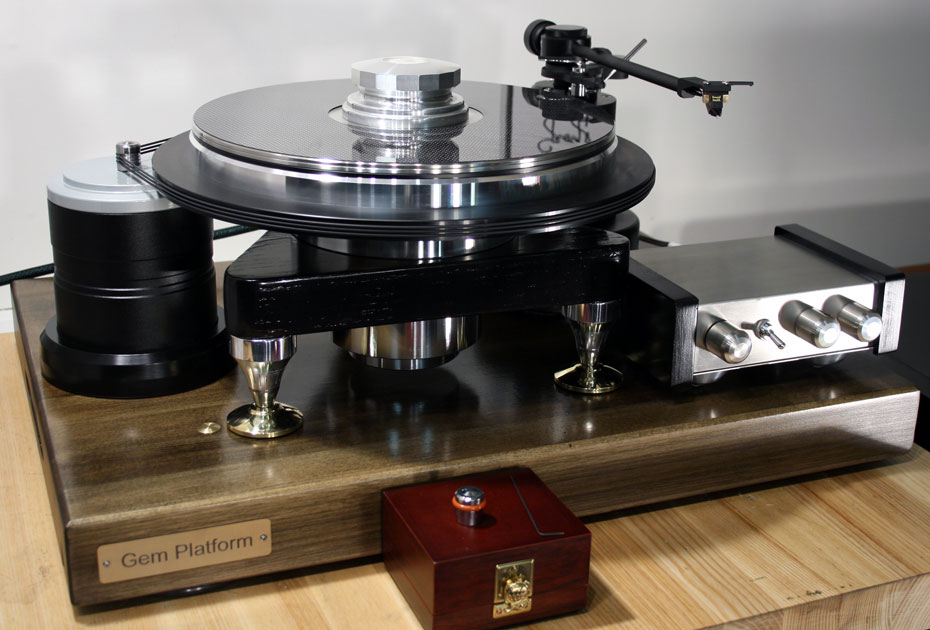 TTWeights GEM turntable