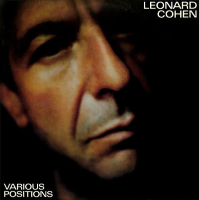 Leonard Cohen & Jennifer Warnes Various Positions