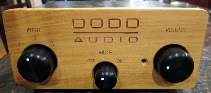 Dodd Audio Battery Powered Tube Buffer Preamplifier