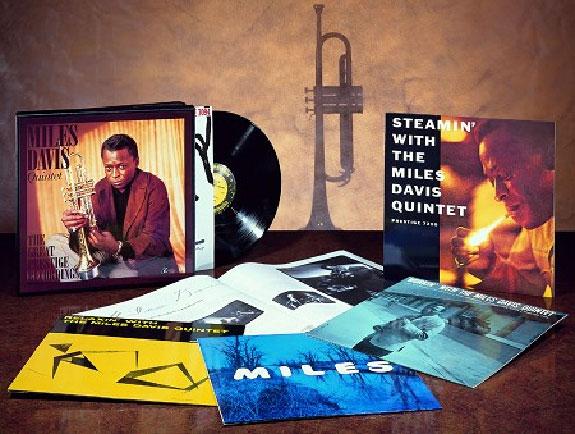Miles Davis Quintet/Great Prestige Recordings 45 RPM Box Set