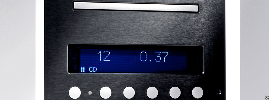 Lindemann 825 HD Disc Player LCD Display