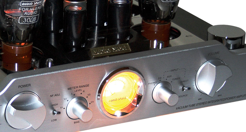 Audio Space Reference 3.1 integrated tube amplifier
