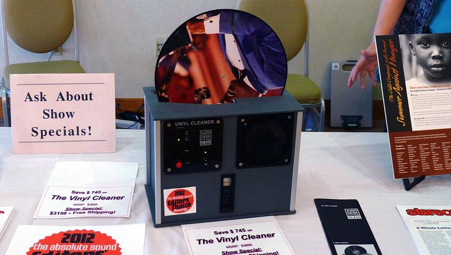 Audio Desk Ultrasonic Record Cleaning Machine