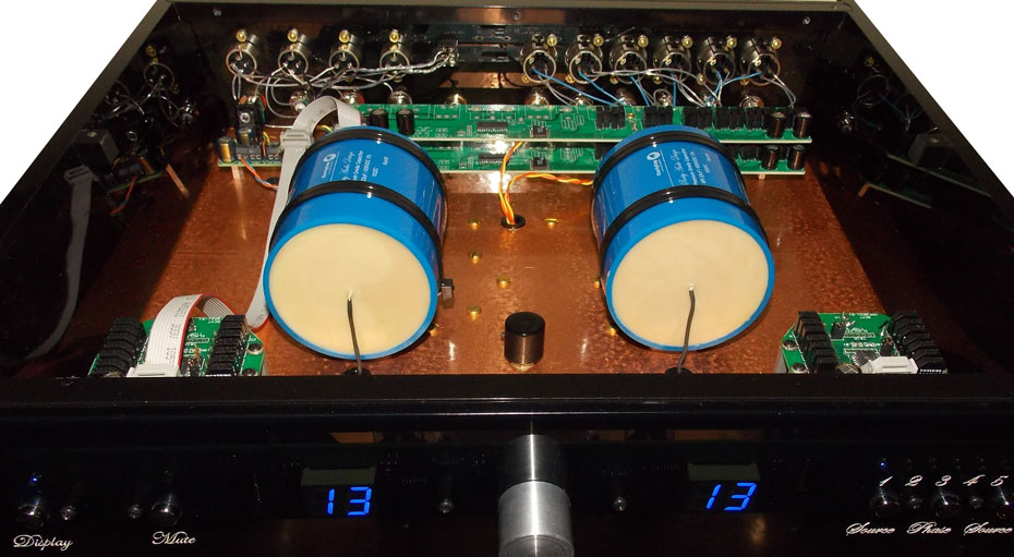 inside the Purity Audio Design Silver Statement Preamplifier