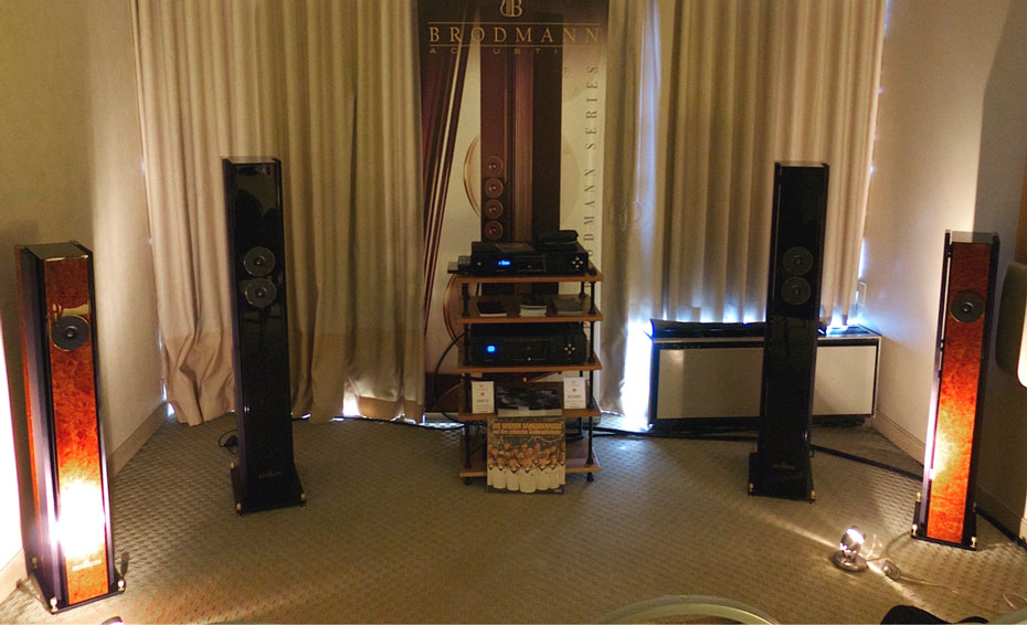 Electrocompaniet & Brodmann Acoustics