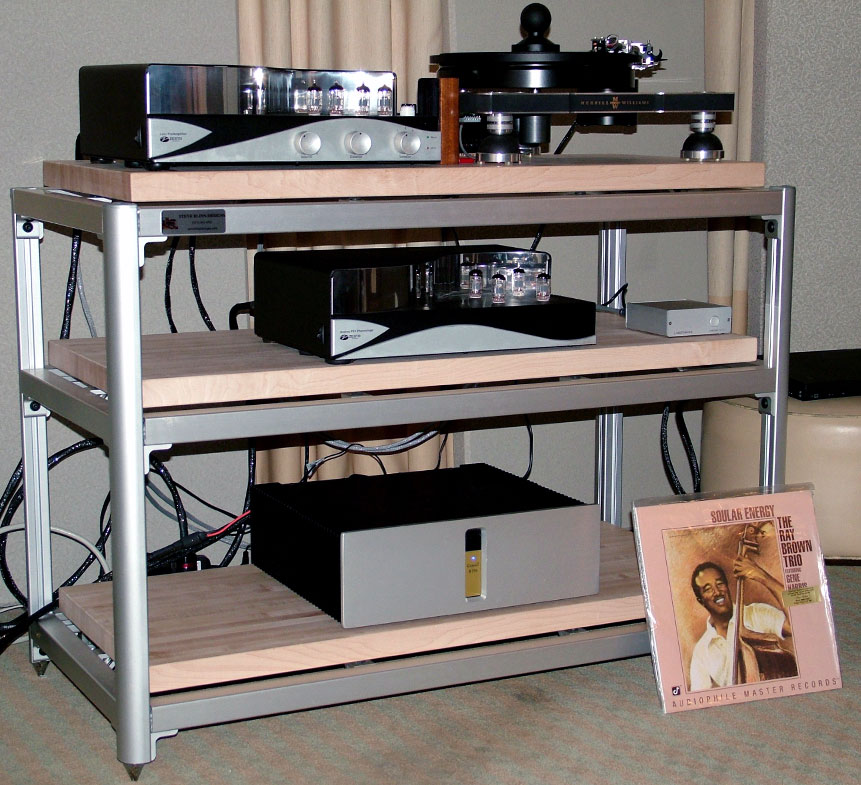Merrill Williams R.E.A.L. 101 turntable