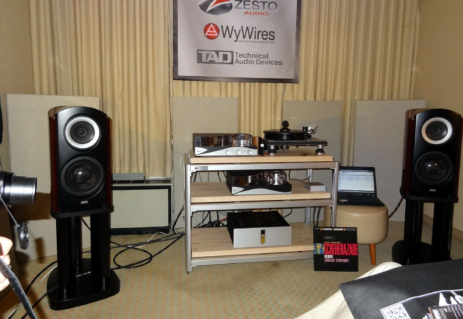 Zesto Audio/Merrill-Williams/WyWires/TAD Labs