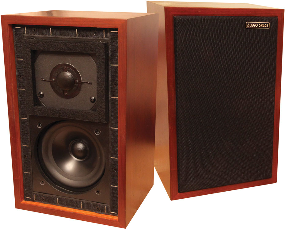 Audio Space LS-3/5a stand-mount speakers