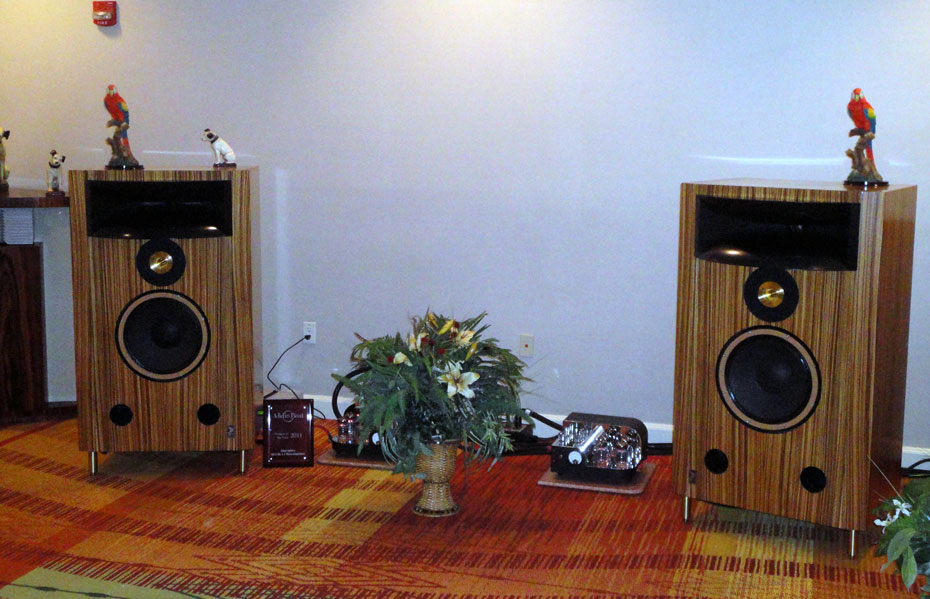 Classic Audio T-1.4 Reference Speaker with Atma Sphere Novacron Amplifiers