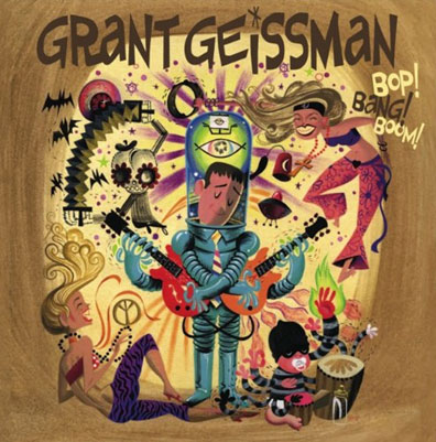 Geissman's latest album is Bop! Bang! Boom!