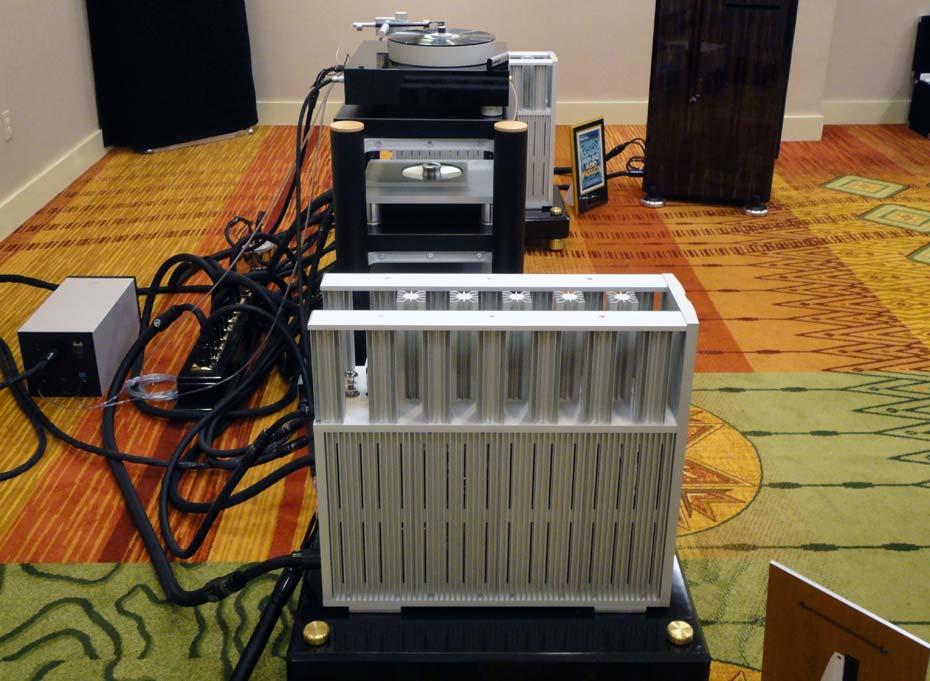 Ypsilon Ultimate Mono Amps and Bergman Airbearing Turntable & Tonearm