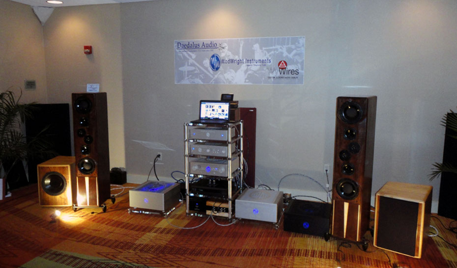 Deadalus Audio and Modwright Instruments room