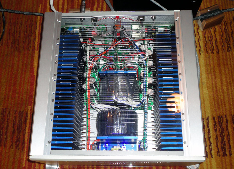 See-through of Modwright KWA 150 Signature Edition Amplifier