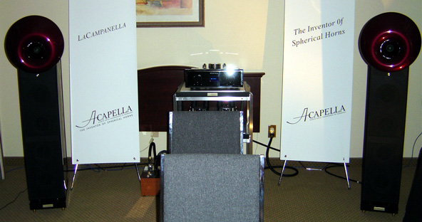 Acapella La Campanella Speakers at CES 2005