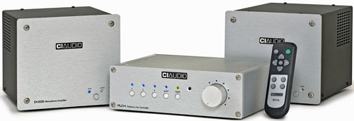 Channel Island Audio PLC-1 - D-200 Class D Monoblock Amplifiers - XDC-2 AC Enhancing Filter
