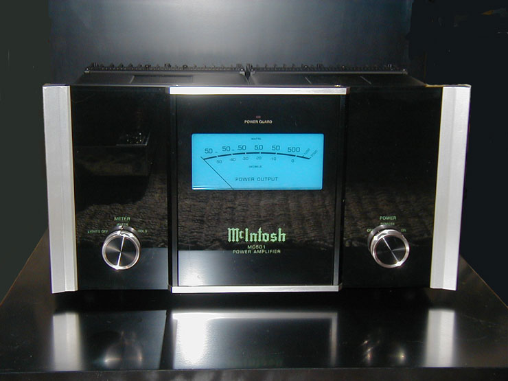 McIntosh MC501 solid-state monoblock amplifiers