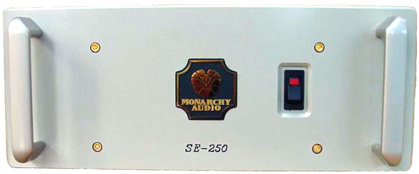 Monarchy Audio SE-250 hybrid monoblock power amplifier