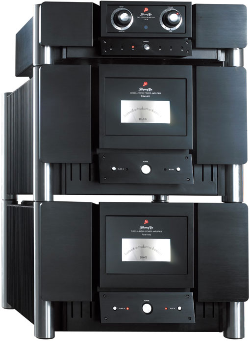 ShengYa CS-6 fully balanced tube preamplifier & PSM-600 monoblocks