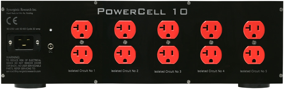 Synergistic Power Cell rear panel