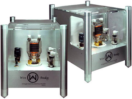 Win Analog S Series monoblock amplifiers