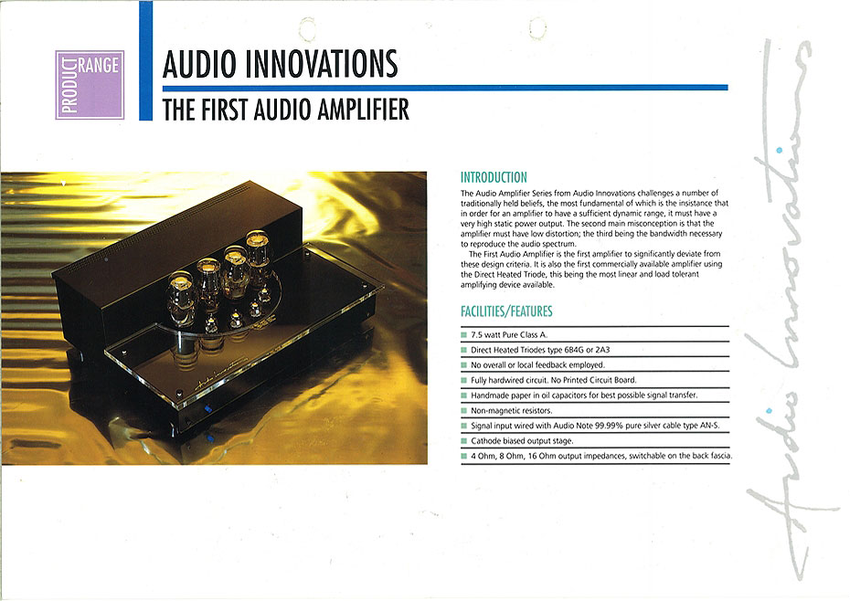 Audio Innovations First Audio Dagogo