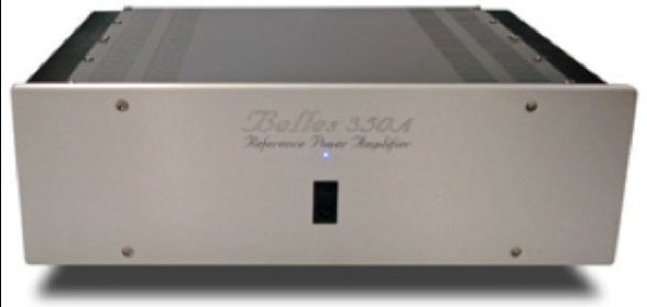 Belles Power Modules Reference Series 350A Version 2 stereo solid-state power amplifier
