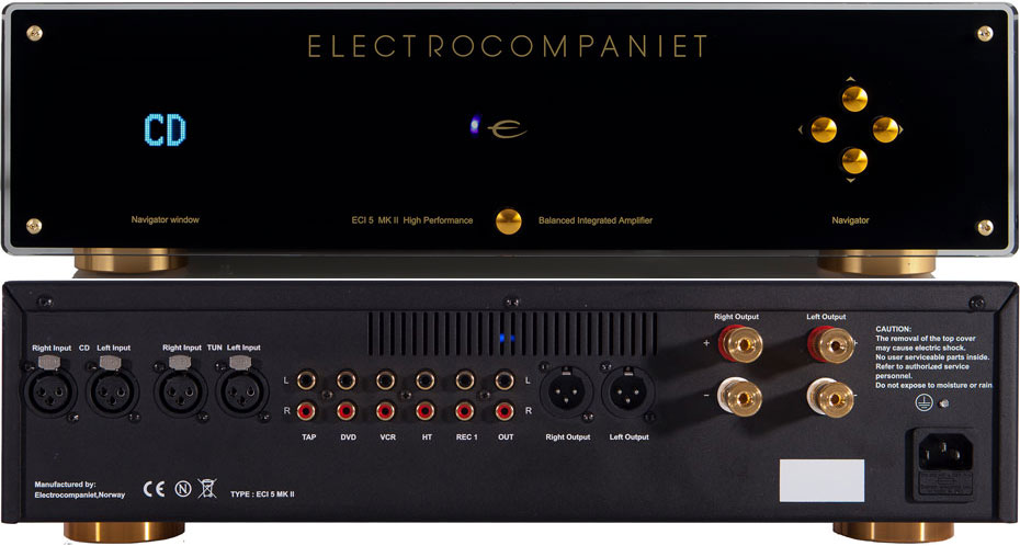Electrocompaniet ECI5 MkII Solid State Amplifier