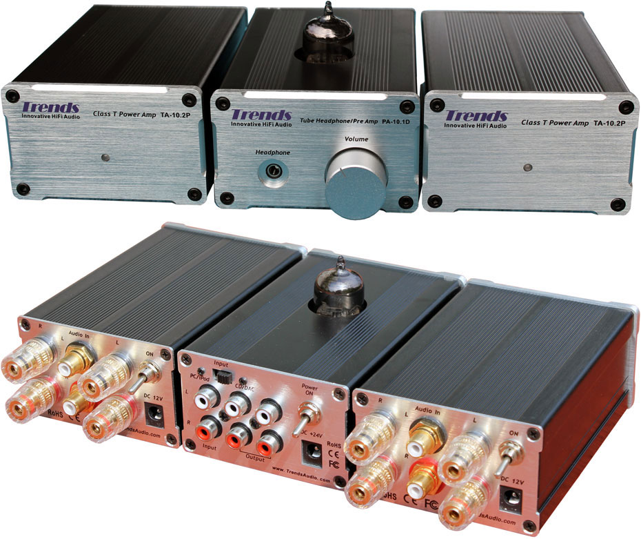 Trends BA10 SA 10R Preamplifier and Bi-Amplifiers