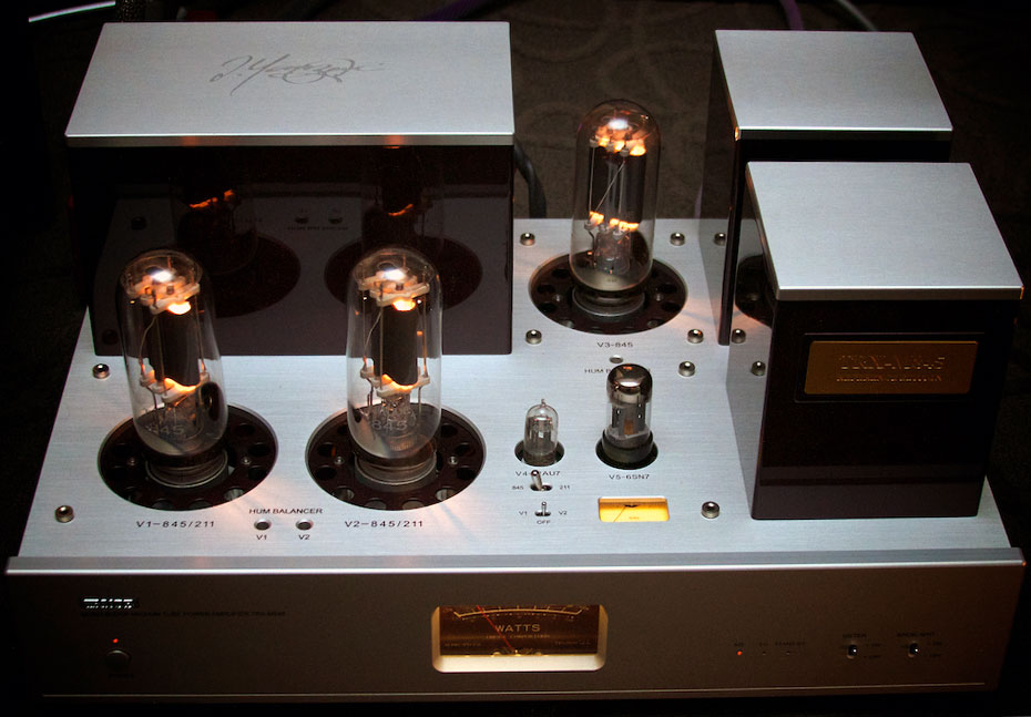 Triode Corporation TRX-M845 reference edition single-ended parallel monoblocks