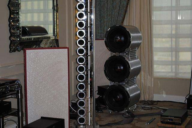 Scaena 10th Anniversary Silver Ghost speakers at CES 2013